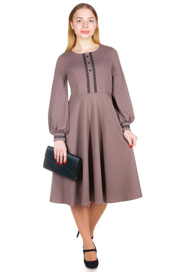 Платье МР Rosabella Светло-коричневый