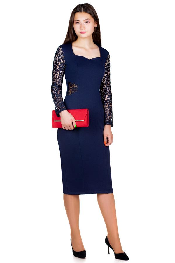 Платье МР Aerin Темно-синий