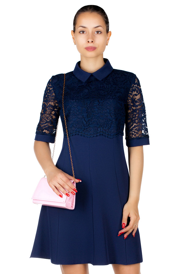 Платье МР Carola Темно-синий