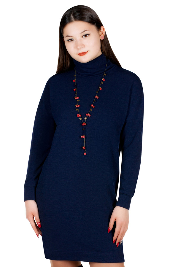 Платье МР Merron Темно-синий