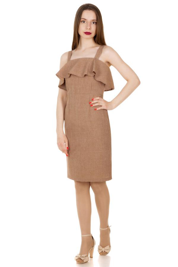 Платье Madison Светло-коричневый