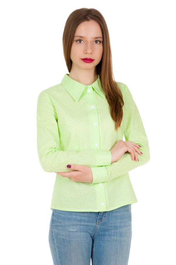 Рубашка длинный рукав Салатовый