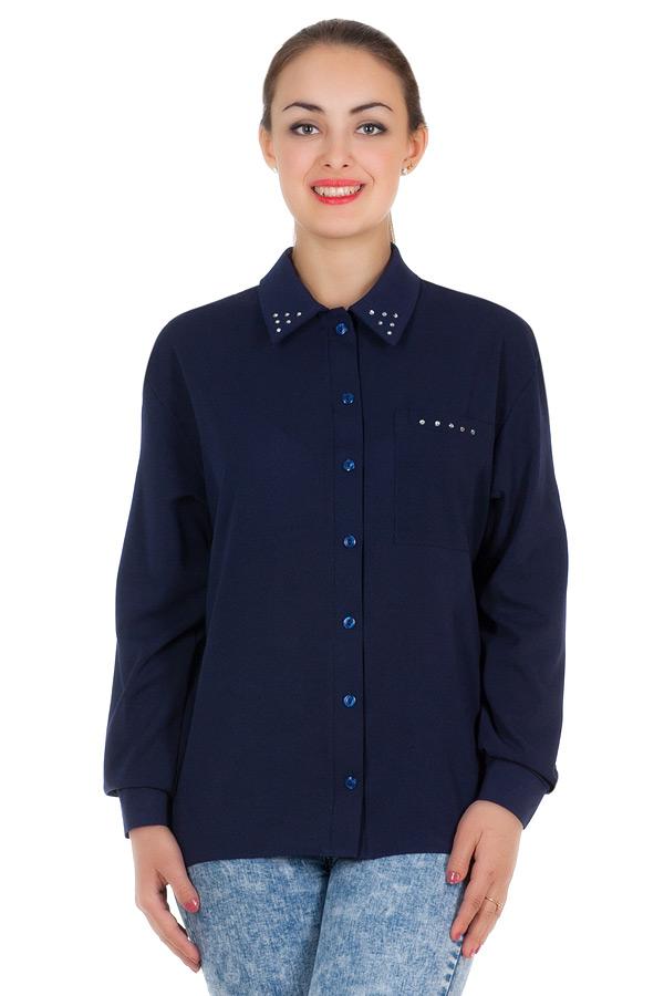 Рубашка БР Janett Темно-синий