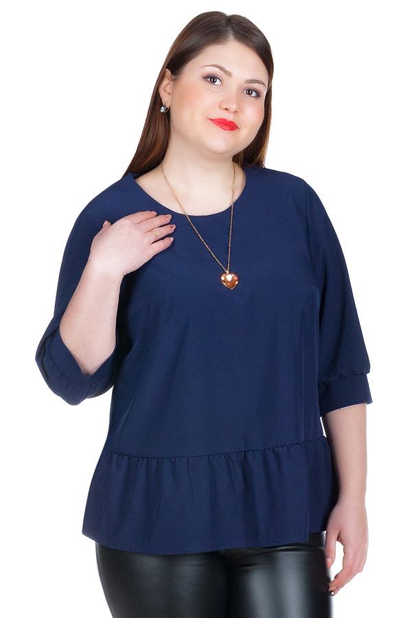 Блуза БР Lucretia Темно-синий