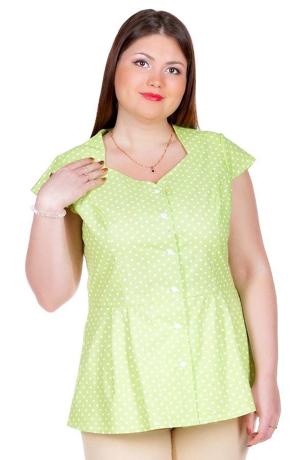 Блуза БР Lada Салатовый
