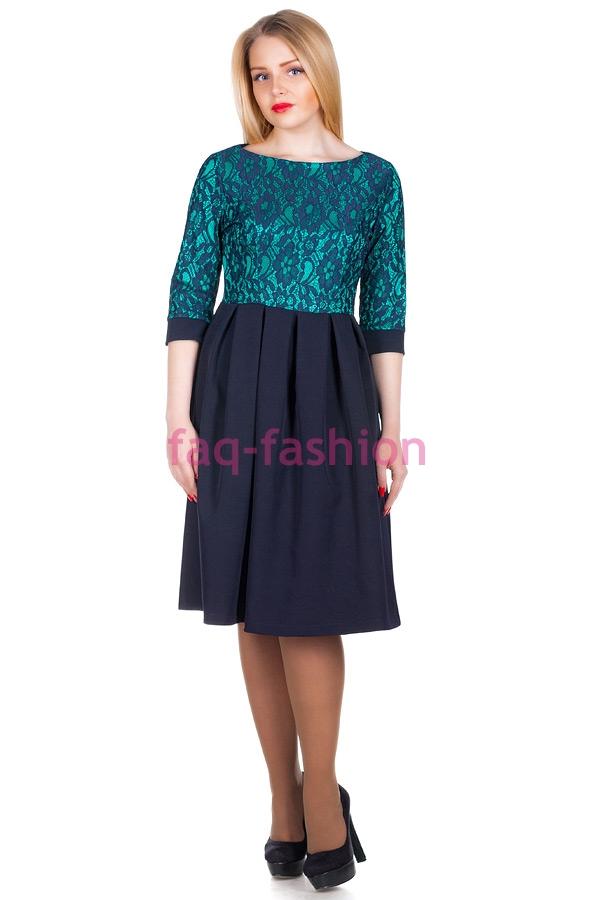 Платье МР Rosina Зеленый