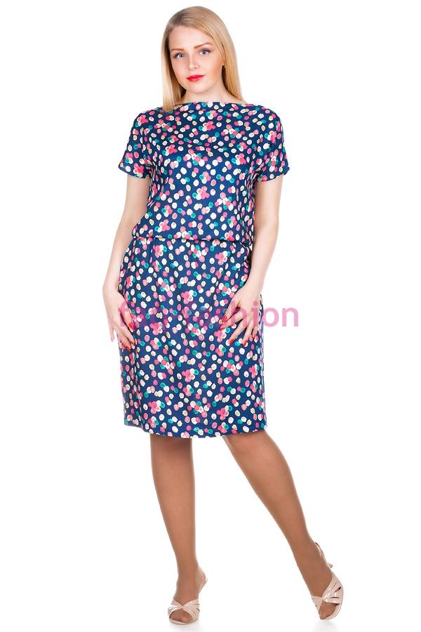 Платье Штапель Принт